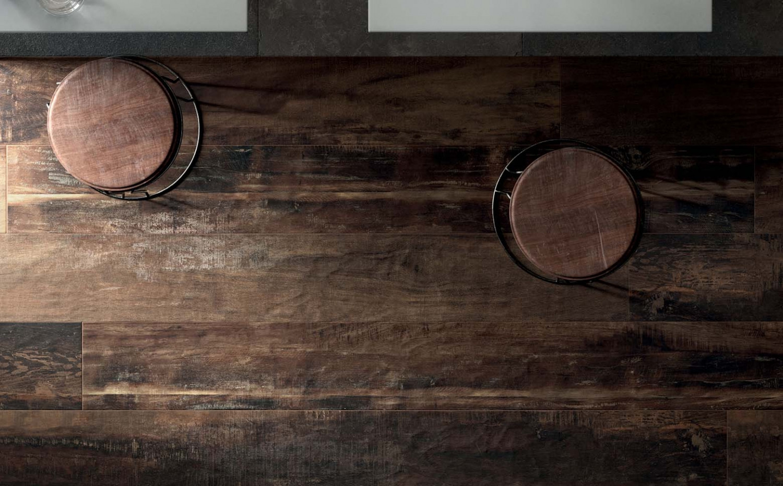 Holzoptik dublin smoked 20x120cm feinsteinzeug for Feinsteinzeug bodenfliesen