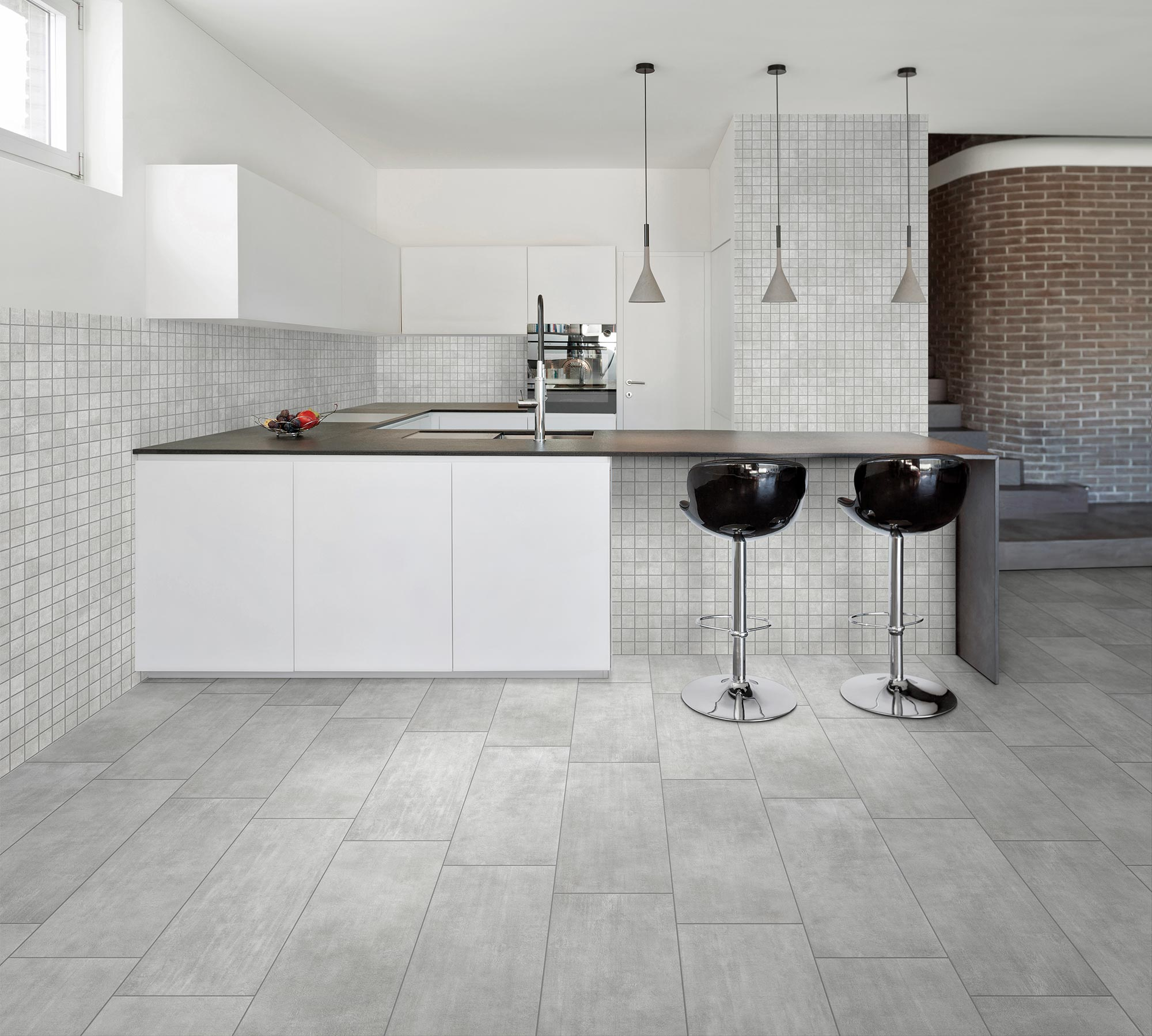 New Concrete Grau Feinsteinzeug 30x60cm Bodenfliesen Wandfliesen