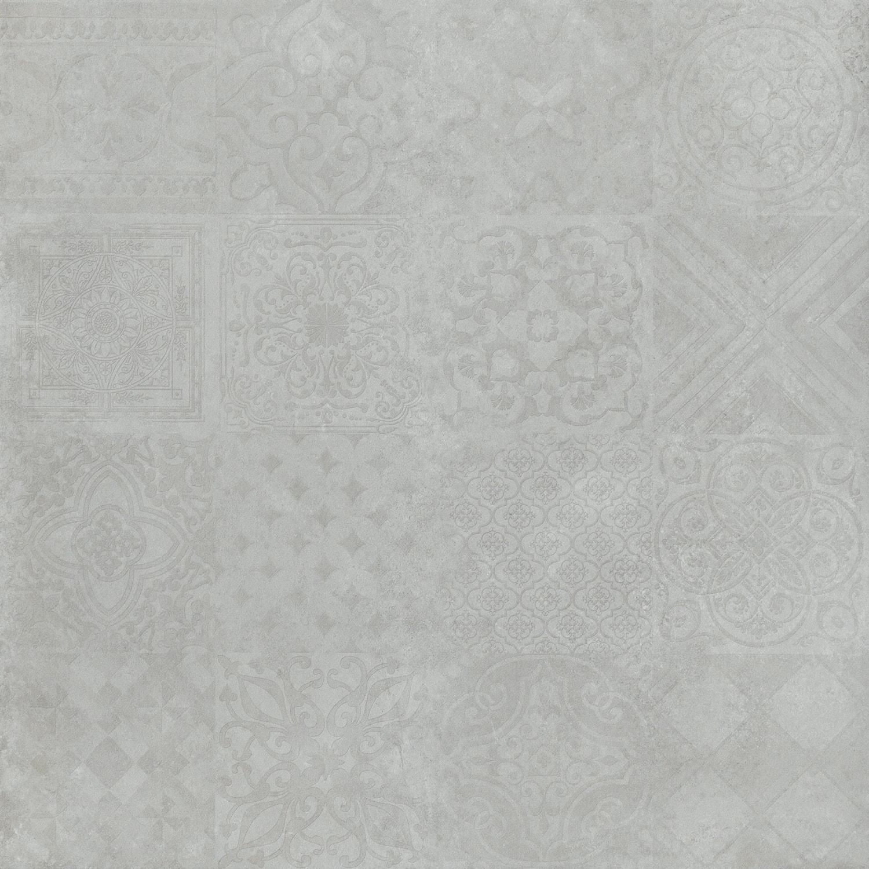 muster der dekor bodenfliesen icon hellgrau 60x60cm rekt. Black Bedroom Furniture Sets. Home Design Ideas
