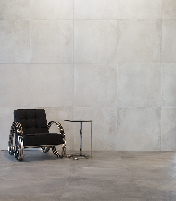 muster der betonoptik bodenfliesen broadway grau matt. Black Bedroom Furniture Sets. Home Design Ideas