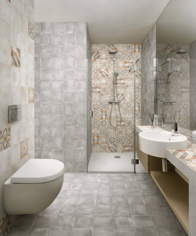 muster der bodenfliesen rimini bunt matt 20x20cm feinsteinzeug dekorfliesen ebay. Black Bedroom Furniture Sets. Home Design Ideas