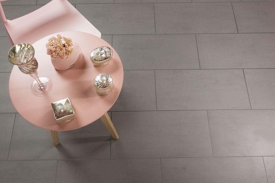 villeroy boch pure line bodenfliesen mittelgrau matt 30x60cm feinsteinzeug r10 ebay. Black Bedroom Furniture Sets. Home Design Ideas